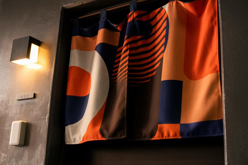 door curtain mood