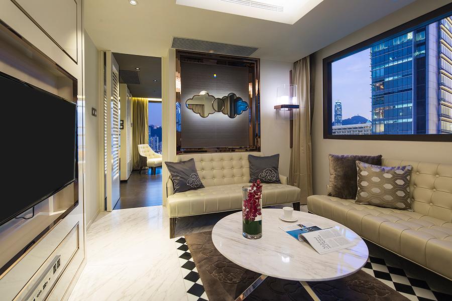 OTA_China_Hong Kong_Hotel Pravo_Presidential_Suite_Living rm
